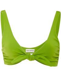 Mara Hoffman - Rio Triange Bikini Top - Lyst