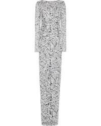 Michael Kors - Sequined Tulle Gown - Lyst
