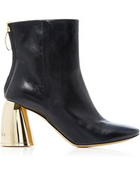 Ellery - Class Leather Ankle Boots - Lyst