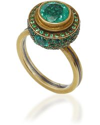 Judy Geib - One-of-a-kind Columbian Emerald Ring - Lyst