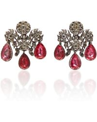 Simon Teakle - Antique Girandole Earrings - Lyst
