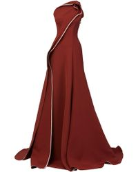 Maticevski - Amorous Draped One-shoulder Gown - Lyst