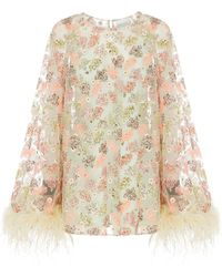 Alice McCALL - Celestial Creature Feather Swing Dress - Lyst
