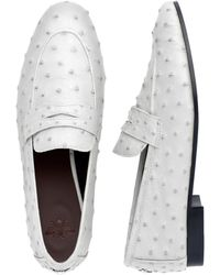 Bougeotte - White Ostrich Flaneur - Lyst