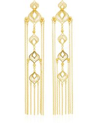 Mallarino | Elena Sterling Silver And 24k Gold Vermeil Earrings | Lyst