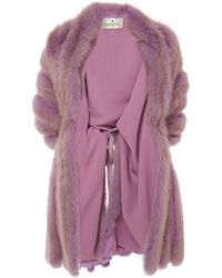 J. Mendel - Dyed Sable Stole - Lyst