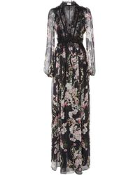 Giambattista Valli | Floral Printed Maxi Dress | Lyst