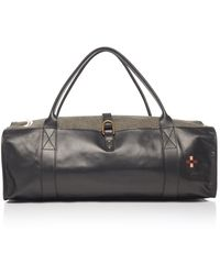 Nick Fouquet - Hand-painted Leather And Canvas Duffel Bag - Lyst