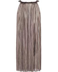 Maria Lucia Hohan - Rose Metallic Tulle Skirt - Lyst