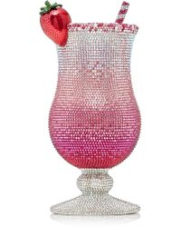Judith Leiber - Cocktail Pink Lady Clutch - Lyst