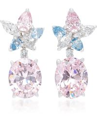 Anabela Chan - Exclusive Blush Lily Earrings - Lyst