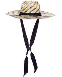 Sensi Studio - Swirl Hat With Adjustable Ribbon - Lyst