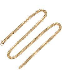 "Emily & Ashley - 30"" Locket Charm Chain Necklace - Lyst"