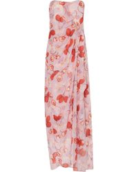 Isolda - Bela Maxi Dress - Lyst