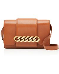 Givenchy | Infinity Chain-trimmed Leather Shoulder Bag | Lyst