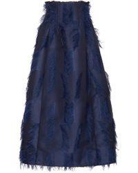 Marina Moscone - Deconstructed Dirndl Skirt - Lyst