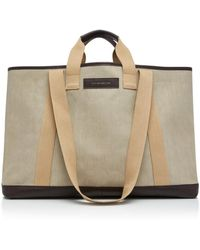 Want Les Essentiels De La Vie - Grantley Xl Canvas Shopper Tote - Lyst