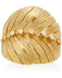 Hueb - Bahia 18k Gold Diamond Ring - Lyst