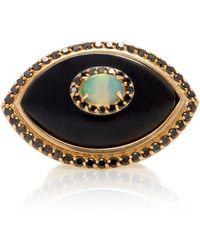 Marlo Laz - Black Eyecon Ring - Lyst