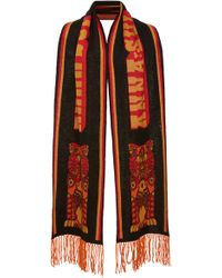 Anna Sui - James Coviello For Whoo's That Pussycat Scarf - Lyst