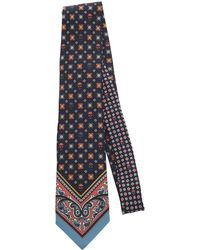 Alexander McQueen - Paisley-print Silk-faille Tie - Lyst