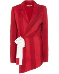 Hellessy - Monroe Jacquard Wrap Jacket - Lyst