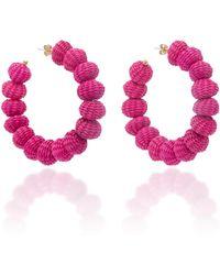 Mercedes Salazar | Candonga Hoop Earrings | Lyst