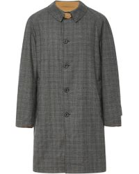 Lanvin - Reversible Cotton-blend Trench Coat - Lyst