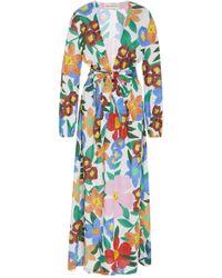 Mara Hoffman - Luna Floral-print Maxi Dress - Lyst