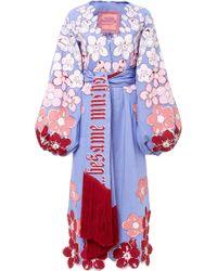 Yuliya Magdych - Besame Mucho Fully Embroidered Caftan - Lyst