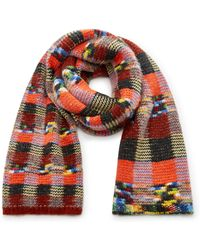 Missoni - Checked Alpaca Scarf - Lyst