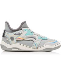 Lanvin - High Frequency Neoprene Trainers - Lyst