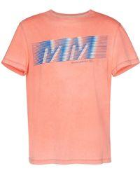 Maison Margiela - Logo-printed Cotton-jersey T-shirt - Lyst