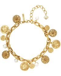 Oscar de la Renta - Short Bead Necklace - Lyst
