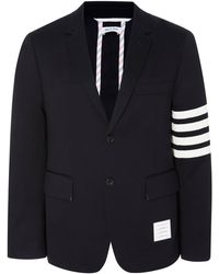 Thom Browne - Unconstructed Striped Cotton-twill Blazer - Lyst