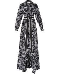Alexis - Ladda Tie Waist Paisley Dress - Lyst