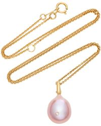CVC Stones - Vamp 18k Gold And Pearl Necklace - Lyst