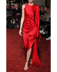 Christian Siriano - One Shoulder Gown - Lyst