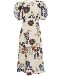 Sea - Margherite Printed Cotton Dress - Lyst