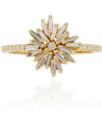 Suzanne Kalan | 18k Gold Diamond Ring | Lyst