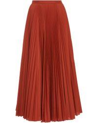 Claudia Li - Pleat On Pleated Skirt - Lyst