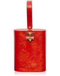 Edie Parker - Acrylic Oval Bucket Bag - Lyst