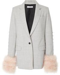 ADEAM - Convertible Tailored Jacket - Lyst