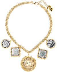 Rosantica | Ciucciue Gold-tone Brass And Ceramic Necklace | Lyst