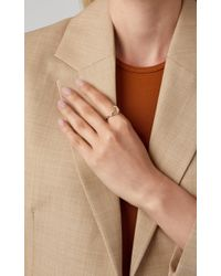 Bibi Van Der Velden - Wave Stackable Ring One - Lyst