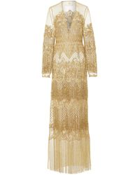 Cucculelli Shaheen - Dreamweaver Fringe Dress - Lyst