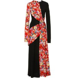Prabal Gurung - Lugu Floral Sash Dress - Lyst