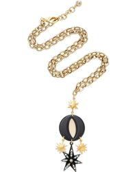 Lulu Frost - Orana Long Gold-plated Brass Pendant Necklace - Lyst