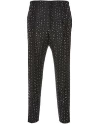 Jil Sander - Sam Wool-blend Slim-leg Pants - Lyst