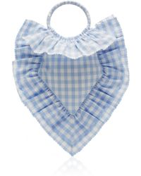 The Vampire's Wife - Scallop Frill Sacred Heart Bag - Lyst